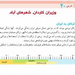 پاورپوینت  درس ۲۰ مطالعات اجتماعی  پنجم  (ایران بعد از اسلام )